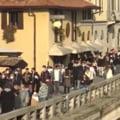 VIDEO Aglomeratie in Milano, inainte de noile restrictii. Sute de locuitori au iesit la plimbare in centrul orasului