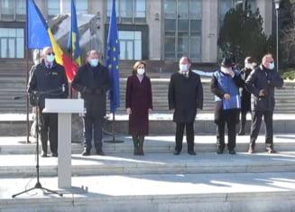 VIDEO Ajutorul umanitar oferit Republicii Moldova de Romania. Multumiri in limba romana din partea sefei Comisiei Europene