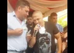 VIDEO Amenzi de 125.000 de lei la o nunta unde a cantat Nicolae Guta. Nuntasi filmati inghesuiti in jurul manelistului