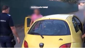 VIDEO Anchetatorii il banuiau de furt de fier vechi, insa el comitea o alta infractiune