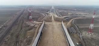 """VIDEO Asociatia Pro Infrastructura: """"Ritmul lucrarilor pe tronsonul 2 al Autostrazii A10 este ingrijorator"""""""