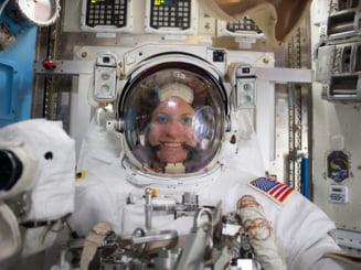 """VIDEO Astronauta Kate Rubins a votat la prezidentialele din SUA de pe Statia Spatiala Internationala: """"Daca noi putem din spatiu, puteti si voi de pe Pamant"""""""