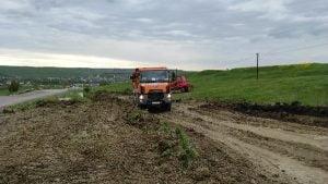 VIDEO Au inceput lucrarile de modernizare la drumul national Botosani-Stefanesti, legatura cu Vama Stanca