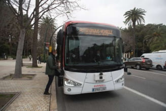 VIDEO Autobuze fara sofer, puse in circulatie intr-un oras din Spania. Cum arata vehiculele