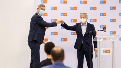 VIDEO Barna si Ciolos, dupa consultarile cu Iohannis: Vrem fie functia de premier, fie cea de sef al Camerei Deputatilor. Suntem optimisti