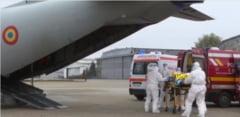 VIDEO Bucurestiul, din nou fara locuri la ATI. Inca cinci pacienti COVID in stare grava au fost trimisi cu avionul militar in Moldova si Ardeal