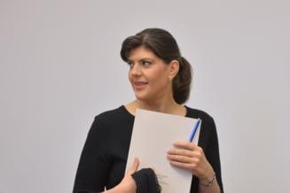 VIDEO Ce raspunde Laura Codruta Kovesi cand este intrebata daca vrea sa candideze la functia de presedinte al Romaniei: Au fost foarte multe speculatii