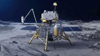 VIDEO China a ajuns cu succes pe Luna. Este a treia tara care reuseste sa colecteze sol lunar