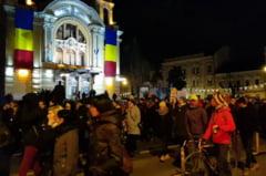 VIDEO Clujenii, din nou in strada, in apararea Justitiei