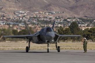 VIDEO Coliziune intre doua avioane. SUA pierde inca un avion de vanatoare F-35