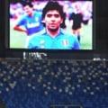 VIDEO Cum a fost omagiat Maradona la meciul Napoli - Roma. Partida s-a intrerupt in minutul 10
