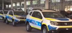 VIDEO Cum arata noile masini de politie. Dotari: camere de supraveghere, statii mobile si acces la bazele de date