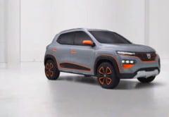 VIDEO Cum arata prima Dacia suta la suta electrica. Modelul va fi prezentat de Renault, la Paris