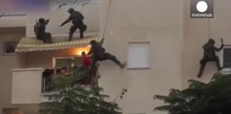 VIDEO Cum au intervenit politistii din Israel si China in luari de ostatici similare celei de la Onesti. Atacatorii au fost impuscati