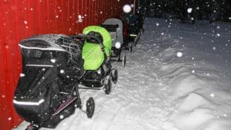 """VIDEO De ce sunt lasati bebelusii din Suedia sa doarma in frig: """"Probabilitatea de a contacta virusuri este mult mai mica"""""""