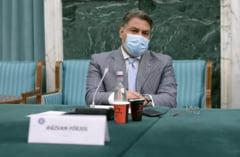"""VIDEO Declaratie amuzanta a unui secretar de stat: """"Am senzatia, atunci cand pun masca, ca nu aud ce-mi spuneti. Simturile mele se amesteca"""""""