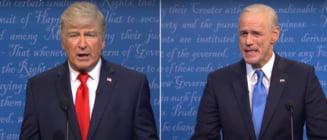 "VIDEO Dezbaterea finala dintre Donald Trump si Joe Biden, parodiata la ""Saturday Night Live"""