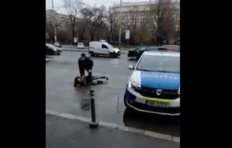 "VIDEO Doi barbati si o femeie fara masti de protectie, incatusati in Gara de Nord. ""Colegii nostri au fost nevoiti sa le faca cunostinta cu asfaltul"""