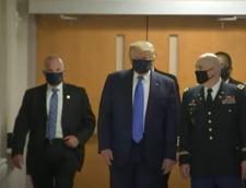 """VIDEO Donald Trump, dus la spital pentru a fi tratat de COVID-19: """"Cred ca sunt foarte bine, dar vrem sa fim siguri ca totul este in ordine"""""""