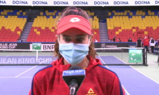 VIDEO Emotionant:cum a reactionat Mihaela Buzarnescu dupa esecul dramatic din Fed Cup