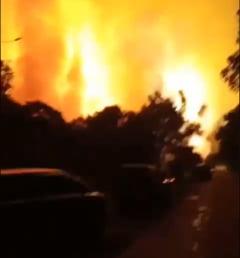 VIDEO Explozie masiva in Indonezia, la o rafinarie de petrol. Un oras intreg a fost evacuat