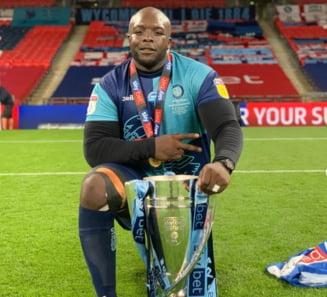 VIDEO FABULOS Un fotbalist de 38 de ani si peste 100 de kilograme a promovat in liga a doua engleza si a primit felicitari de la Klopp