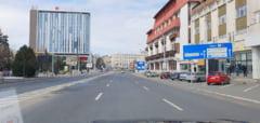 VIDEO FOTO Prima zi de carantina in Romania - Cum se circula prin Sibiu