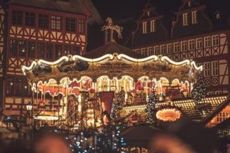 VIDEO FOTO Targul de Craciun de la Frankfurt, anulat din cauza numarului mare de infectari. Imagini spectaculoase din anii trecuti