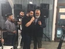 VIDEO Florin Salam, amendat la o petrecere din Stefanestii de Jos. Manelistul canta la petrecerea celebrului lautar Ionica Minune