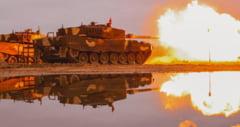 VIDEO Fortele Armate Maghiare, primul exercitiu cu tancurile Leopard. Imagini postate de ministrul ungar al Apararii