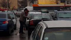 VIDEO Freezing rain in Buzau. Doua accidente s-au produs din cauza poleiului