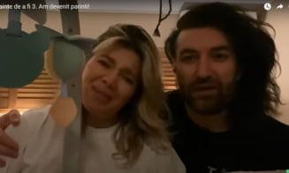 "VIDEO Gina Pistol si Smiley au devenit parinti. ""Fetita noastra este perfecta"""