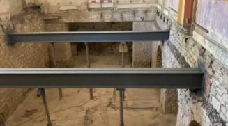 VIDEO Grinzile construite de Anghel Saligny la Cazinoul din Constanta arata ca noi, dupa mai bine de 100 de ani