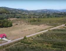 VIDEO Imagini spectaculoase din drona cu autostrada Sibiu - Pitesti. Tronsonul IV include un tunel de 1,3 km sub Dealul Momaia