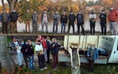 VIDEO Initiativa civica. Pescarii din Valcea au repopulat singurul lac din tara unde se pescuieste gratis