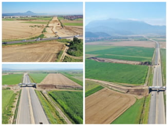 VIDEO Inspectie independenta pe autostrada A3, Comarnic - Brasov. Tronsonul dintre Rasnov si Cristian este terminat in proportie de 60%