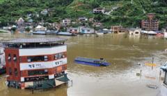 VIDEO Inundatii devastatoare in Coreea de Sud: 30 de persoane au murit, 12 sunt date disparute