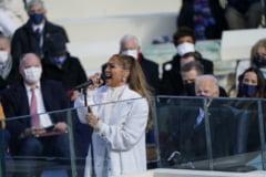 VIDEO Jennifer Lopez a rostit in premiera cuvinte in spaniola la o ceremonie de investire a unui presedinte al SUA