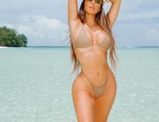 VIDEO Kim Kardashian, criticata dur dupa ce a inchiriat un avion privat, in plina pandemie de coronavirus, pentru o escapada pe o insula exotica