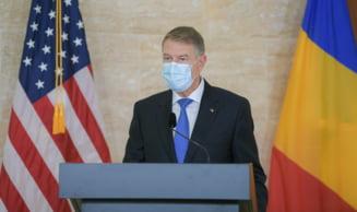 """VIDEO Klaus Iohannis: """"Nu am dorit sa ma bag in fata. Ma vaccinez pe 15 ianuarie. De succesul acestei campanii depinde relansarea economiei Romaniei"""""""