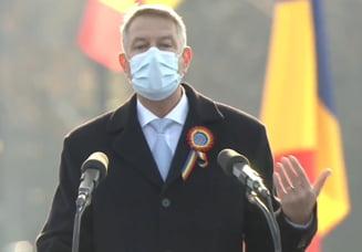"""VIDEO Klaus Iohannis, la ceremoniile de Ziua Nationala: """"Niciodata, in ultimele decenii, nu am intampinat 1 Decembrie cu atata ingrijorare si strangere de inima"""""""