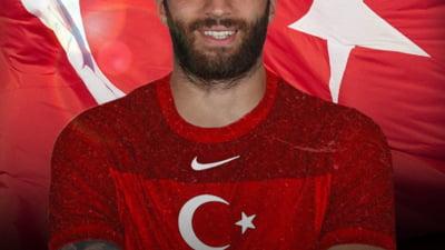 VIDEO Lectia de patriotism: cum reactioneaza un fotbalist turc atunci cand afla ca e convocat la nationala