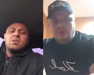 VIDEO Liderul clanului Sportivilor, amenintat de un sef interlop din Oradea. Mascatii au oprit 120 de oameni inarmati pentru lupta