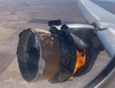 """VIDEO Marturiile cumplite din avionul al carui motor a explodat in aer: """"Eram chiar la fereastra, in dreptul lui"""""""