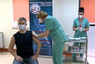 """VIDEO Membri ai Cabinetului Citu, dupa vaccinarea anti COVID-19. Dan Barna: """"Doar asa scapam de pandemie"""""""
