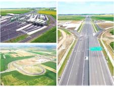 VIDEO Mini-autostrada de 5,35 kilometri din Bihor, construita in proportie de 99%. Cum arata drumul nou de la granita cu Ungaria