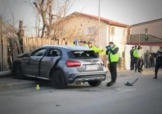 VIDEO Momentul teribil in care cele doua fete din Bucuresti au fost spulberate pe trotuar. Cum s-a petrecut tragedia