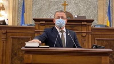 VIDEO Motiunea simpla impotriva ministrului Agriculturii, Adrian Oros, depusa de PSD la Camera Deputatilor