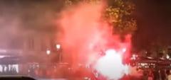 VIDEO Nebunie la Paris, dupa ce PSG s-a calificat dramatic, in semifinalele Champions League