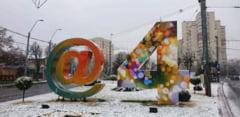 VIDEO Ninsoare in Bucuresti. Primarul Sectorului 4 anunta ca autoritatile sunt pregatite sa intervina cu 150 de utilaje si 3.000 de tone de sare